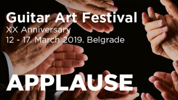 """""""Guitar Art"""" festival od 12. do 17. marta u Kombank dvorani 1"""