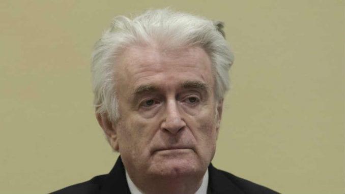 Radovan Karadžić će biti prebačen u Britaniju da služi kaznu 2