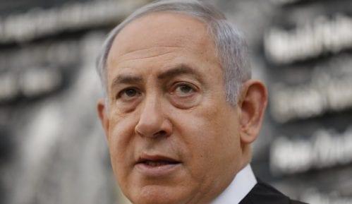 Statua Netanjahua osvanula u Tel Avivu kao simbol kraja demokratije Izraela 3