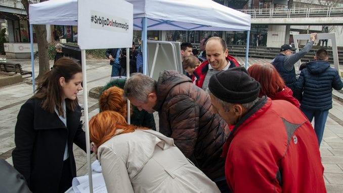 Građani Valjeva zahtevali od vlasti informacije o aerozagađenju 1