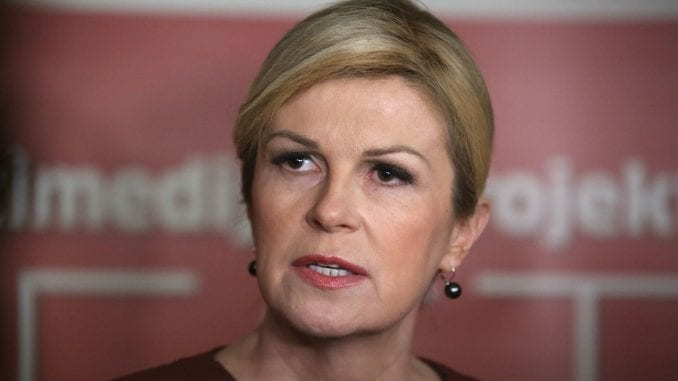 Predsednica Hrvatske kritikovala pravosuđe zbog sporog procesuiranja ratnih zločina 3