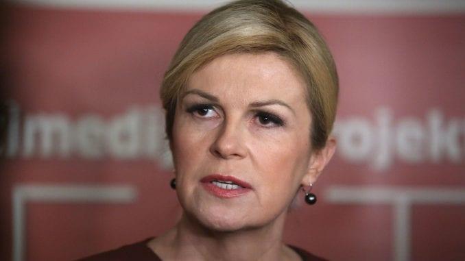 Grabar-Kitarović: Poražavajuće je da Srbija dopušta kongres SRS u Hrtkovcima 2