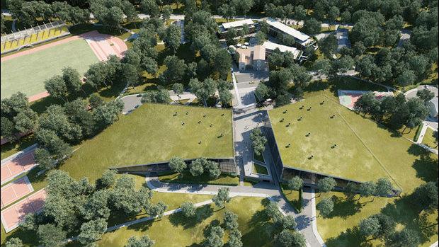 Kome treba stena za penjanje od 1,2 miliona evra usred zelenila 3