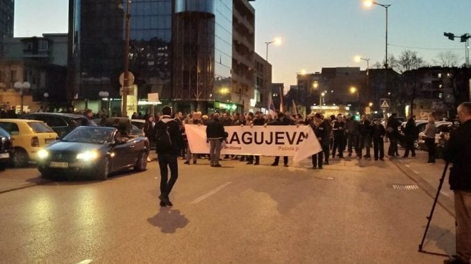 Protest u Kragujevcu: Gradonačelnik krši zakon pet godina 3