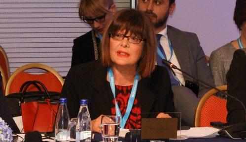 Maja Gojković upoznala predsednika Egipta sa situacijom u Srbiji 2