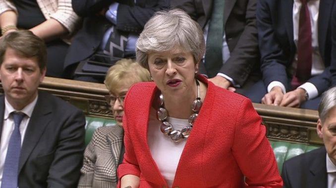Britanski parlament ponovo odbacio sporazum o Bregzitu 1