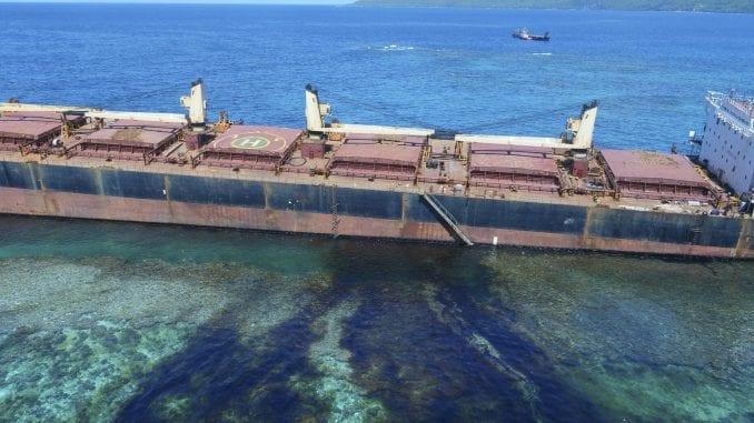 Nasukan brod ispustio 80 tona nafte kod Solomonskih ostrva 1