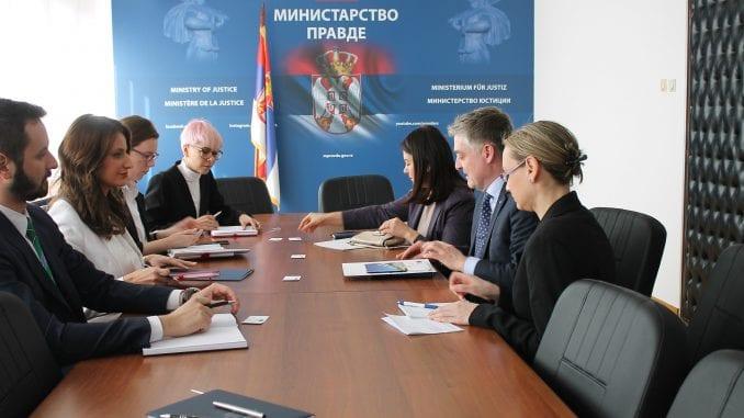 Šef Misije SE sa Kuburović: Pratimo sve reforme u Srbiji, posebno u pravosuđu 4
