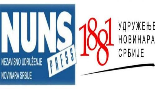 NUNS i UNS: Brutalni pritisci na novinare KRIK-a 9