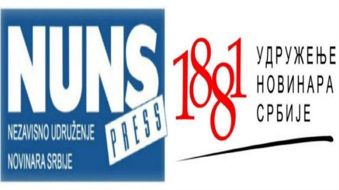 NUNS i UNS osudili pretnje uredniku lista Danas Božidaru Andrejiću i zatražili hitnu reakciju nadležnih 3