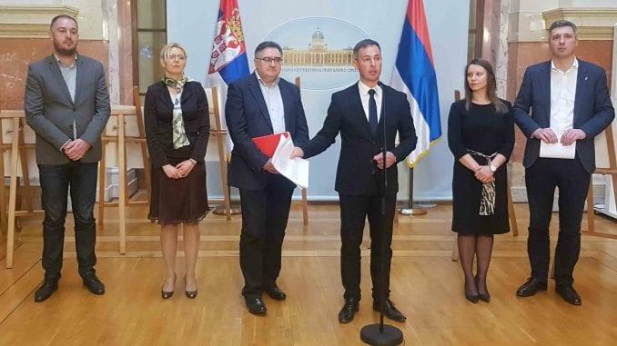 Aleksić: Vučić, Gojković i cela Vlada Srbije da podnesu ostavke 1