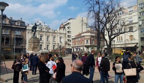 Protest zbog proširenja pešačke zone i izmeštanja trolejbusa (VIDEO) 15