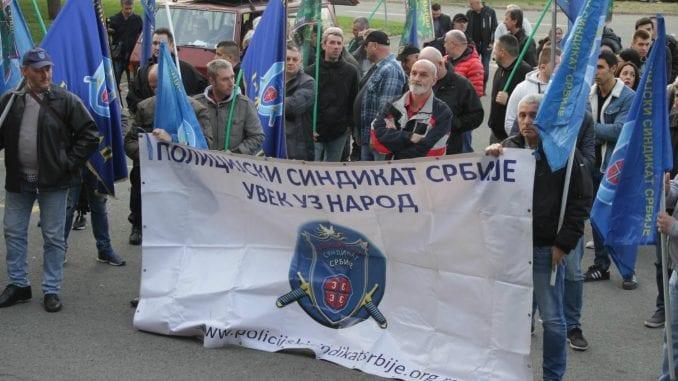 Protest Policijskog sindikata: MUP da ukine odluku o oduzimanju reprezentativnosti 3