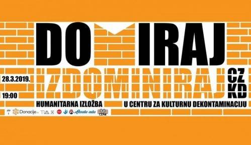 """Humanitarna izložba """"Domiraj"""" 28. marta u CZKD 7"""