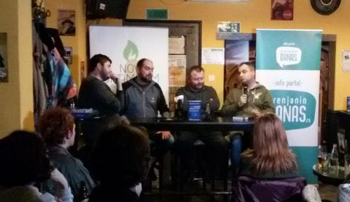 Zrenjanin: Promocija romana Branka Rosića 'Konačno razvedravanje' 2