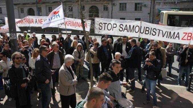 Građani zaduženi u francima obustavili protest do 2. aprila 1
