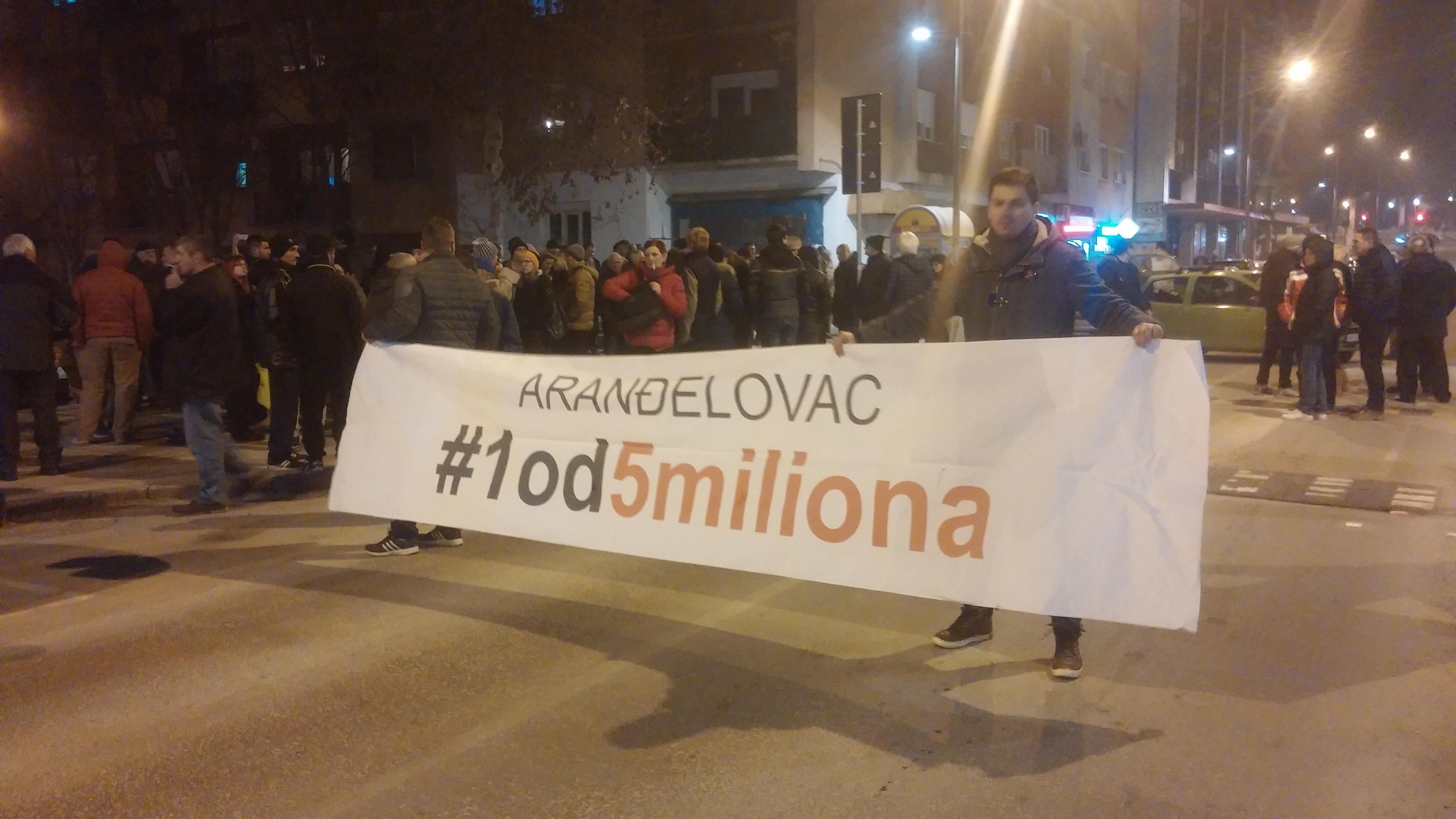 Protesti 1 od 5 miliona u više gradova (VIDEO, FOTO) 10