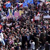 Hiljade Palestinaca protestuje protiv Trampovog mirovnog plana 12