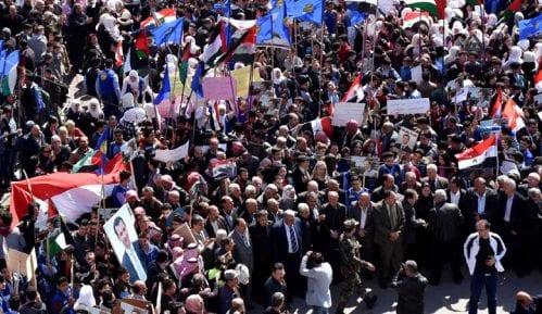 Hiljade Palestinaca protestuje protiv Trampovog mirovnog plana 7