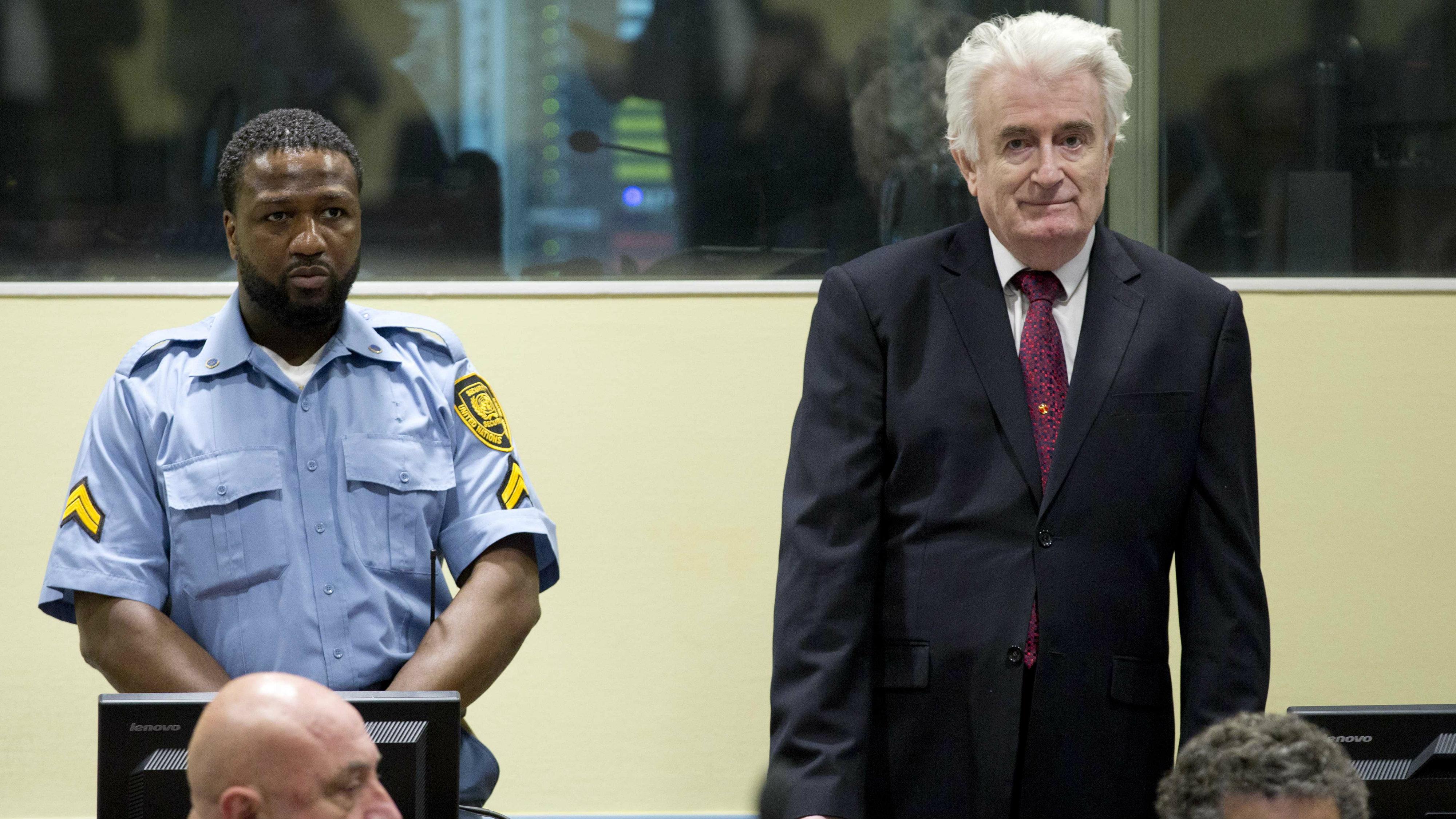 Karadžić osuđen na kaznu doživotnog zatvora 2