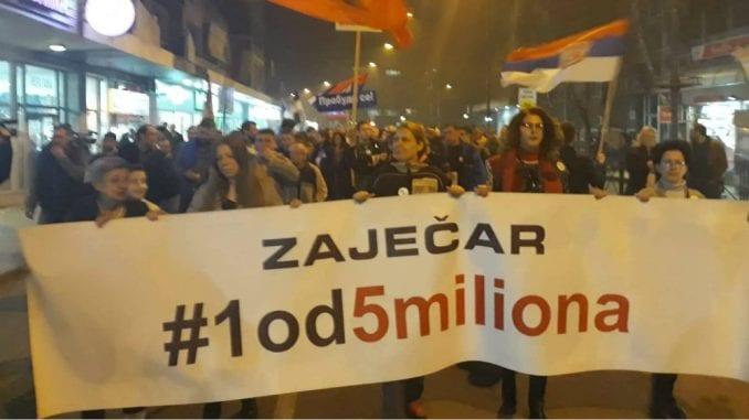 Prekršajna prijava protiv organizatora protesta u Zaječaru stavljena van snage 2