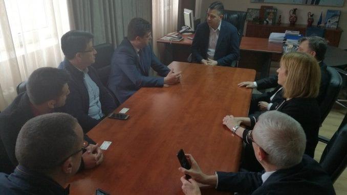 Delegacija skopske opštine Đorče Petrov u poseti Pirotu 1