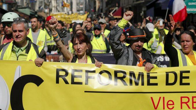 U Francuskoj sutra ponovo protesti Žutih prsluka 1