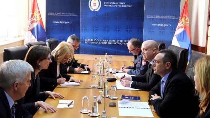 Vulin predstavniku odbrane Amerike: Zabrinut zbog Oružanih snaga Kosova 1