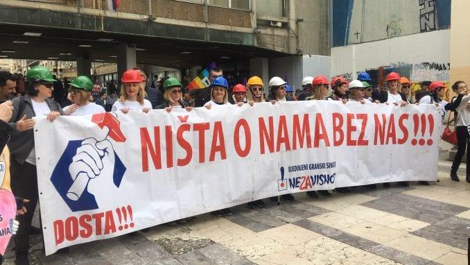 Održan protestni marš povodom Međunarodnog dana žena (VIDEO) 3