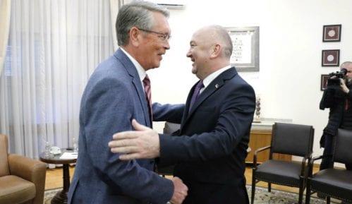 Popović i Čepurin razgovarali o saradnji i Besmrtnom puku 6