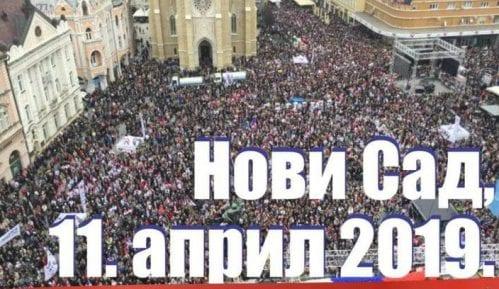 """Da li će u Novom Sadu 12. aprila biti održan i protest """"1 od 5 miliona"""" i Vučićev miting? 8"""