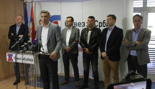 Savez za Srbiju podržao protest u Savamali 24. aprila 13