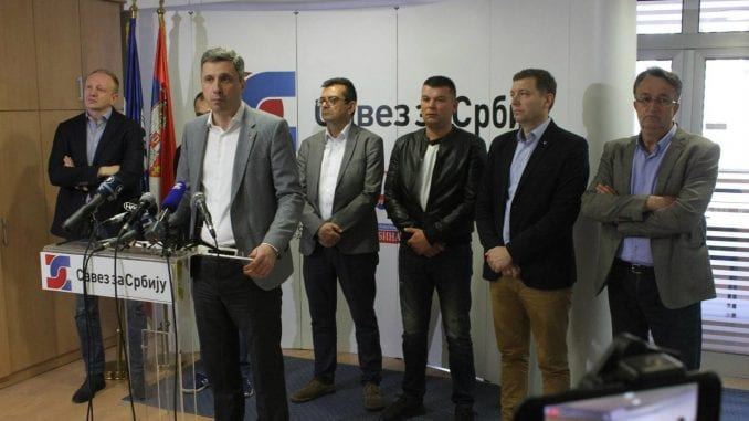 Savez za Srbiju podržao protest u Savamali 24. aprila 1