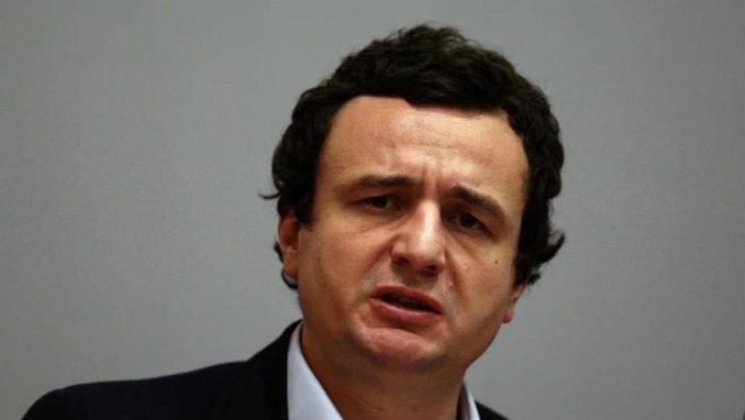 Kurti: Reciprocitet sa Srbijom je rešenje 1
