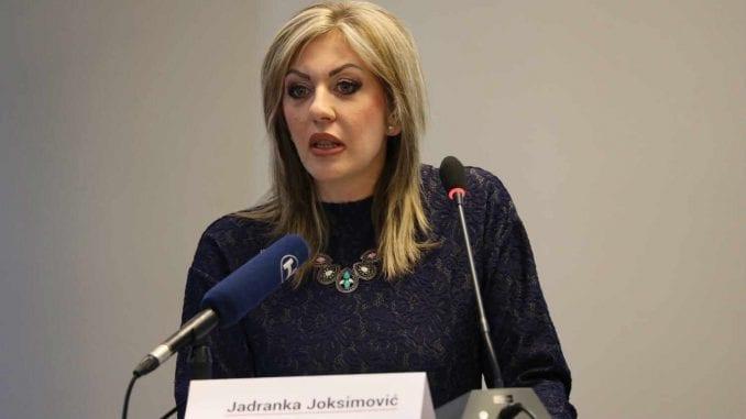 Ministarstvo: Pogrešno citirana Jadranka Joksimović 3