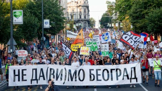 NDBGD: Građani da se bore za svoj grad 1