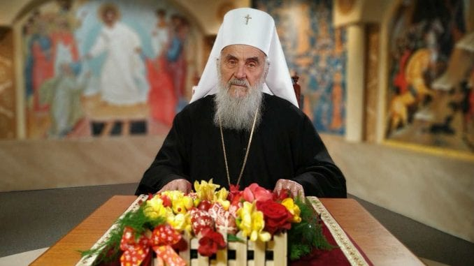 Patrijarh Irinej u Uskršnjoj poslanici pozvao na pomirenje 1