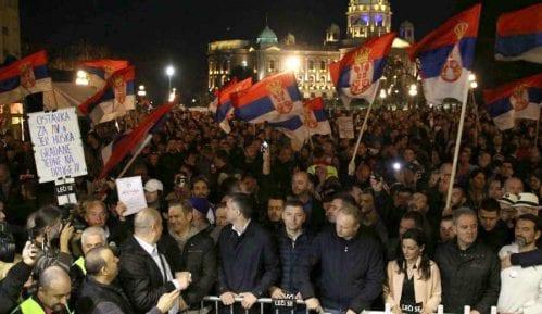 Mesto novinara je na protestu 12