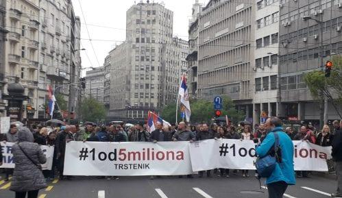 Trasa protesta: Šetaće se do Vlade, Slavije i nazad do Skupštine 4