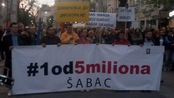 """Protesti """"1 od 5 miliona"""" u više gradova i opština (FOTO, VIDEO) 1"""