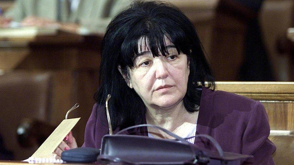 Mirjana Marković u Skupštini SRJ, 24. jul 2001.