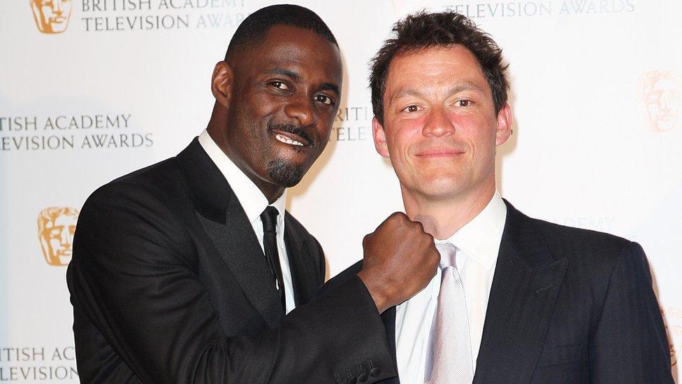 Idris Elba and Dominic West