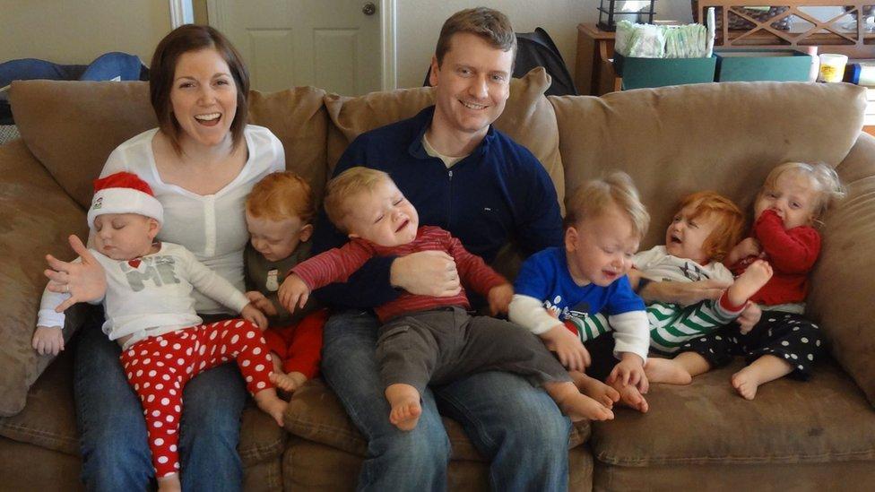Loren i muž Dejv u Ženskom paviljonu Teksaške dece 2012. godine