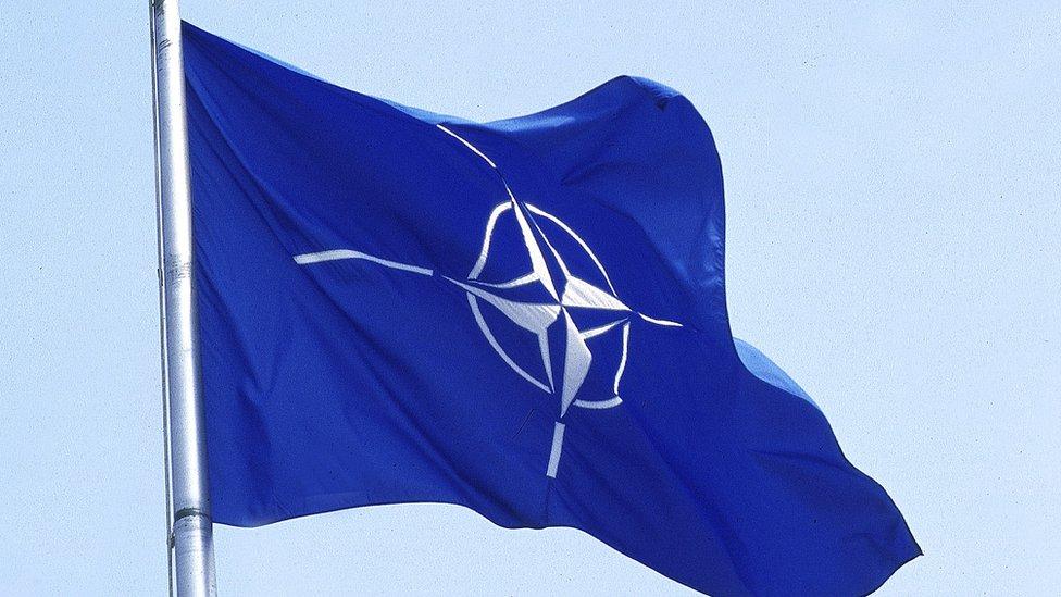 Zastava NATO alijanse