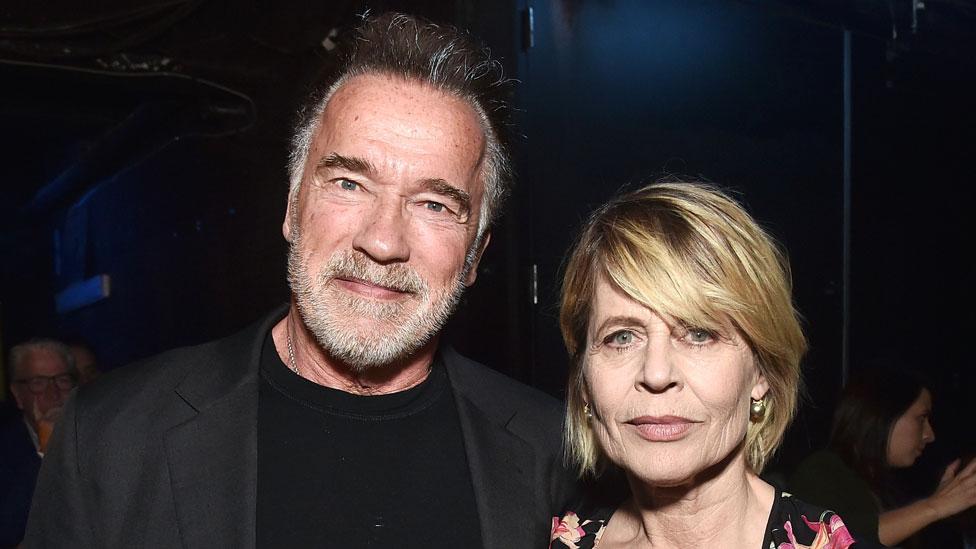 Arnold Švarceneger i Linda Hamilton