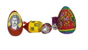 Izložba uskršnjih jaja učenika iz Lajkovca