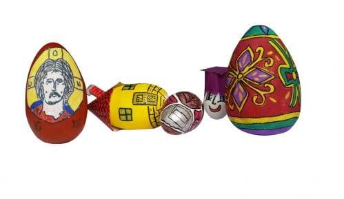 Izložba uskršnjih jaja učenika iz Lajkovca 2