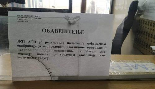 Autobusi iz Pančeva od jutros ne saobraćaju za Beograd 7