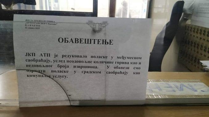 Autobusi iz Pančeva od jutros ne saobraćaju za Beograd 1