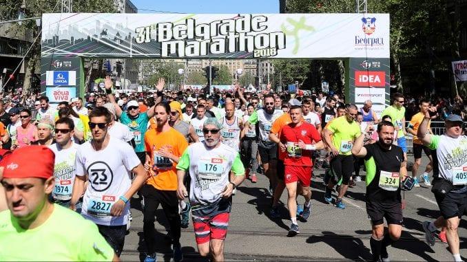Izmene u režimu saobraćaja zbog održavanja Beogradskog maratona 4